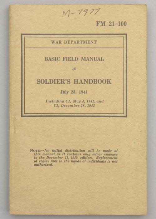 Basic Field Manual: Soldier's Handbook - Page
