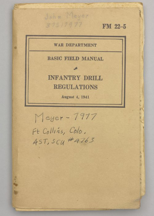 Basic Field Manual: Infantry Drill Regulations - Page