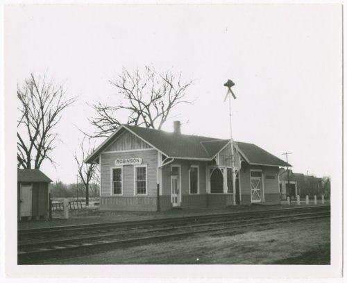 Union Pacific Railroad Company depot, Robinson, Kansas - Page