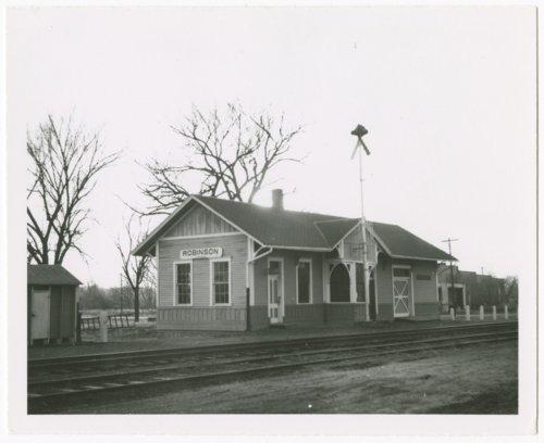 Union Pacific Railroad Company depot, Robinson, Kansas - Page