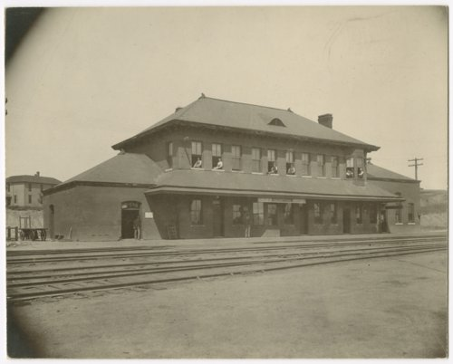 Chicago, Rock Island and Pacific Railroad depot, Horton, Kansas - Page