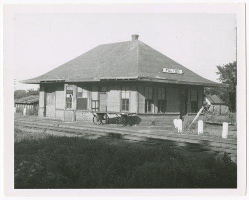 St. Louis-San Francisco Railway depot, Fulton, Kansas - Page