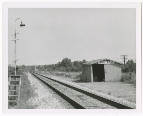 St. Louis-San Francisco Railway box depot, Fulton, Kansas - Page