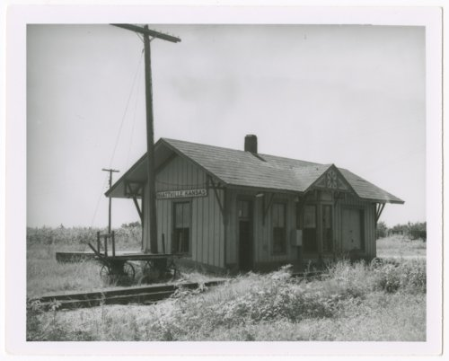 Missour-Kansas-Texas Railroad depot, Hiattville, Kansas - Page