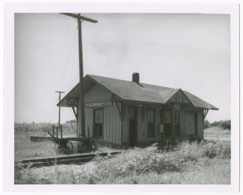 Missour-Kansas-Texas Railroad depot, Hiattville, Kansas - Page
