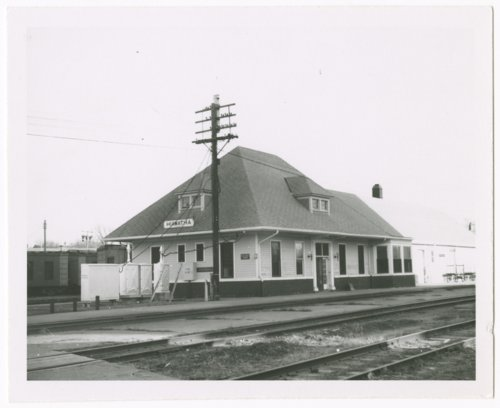 Missouri Pacific and Union Pacific Railroad depot, Hiawatha, Kansas - Page