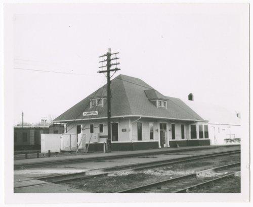 Missouri Pacific and Union Pacific Railroad depot, Hiawatha, Kansas - Page