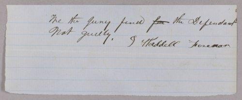Kansas Territory versus Gustavus Deacon for selling liquor on Sunday - Page