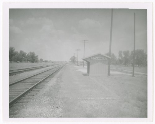 St. Louis-San Francisco Railway box depot, Scammon, Kansas - Page