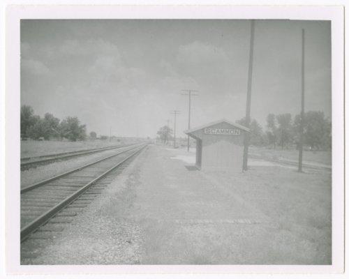 St. Louis-San Francisco Railway box depot, Scammon, Kansas - Page