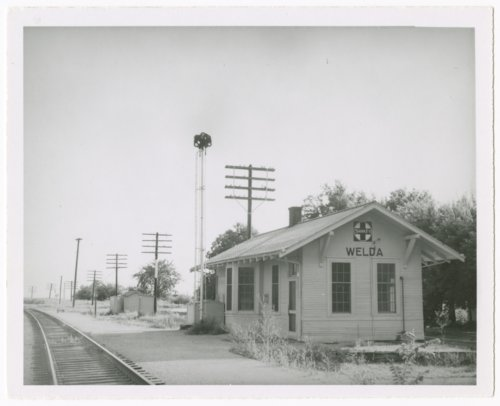 Atchison, Topeka and Santa Fe Railway Company depot, Welda, Kansas - Page