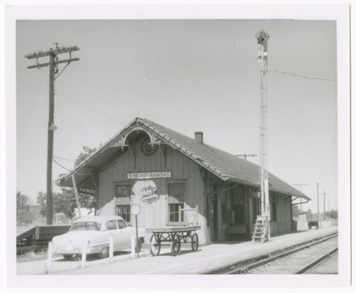 Missouri-Kansas-Texas Railroad depot, Kincaid, Kansas - Page