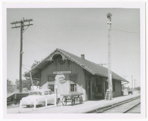 Missouri-Kansas-Texas Railroad depot, Kincaid, Kansas - Page