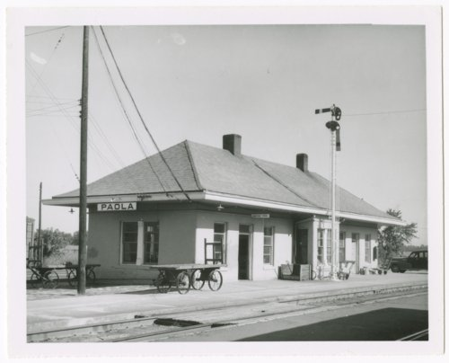 St. Louis-San Francisco Railway depot, Paola, Kansas - Page