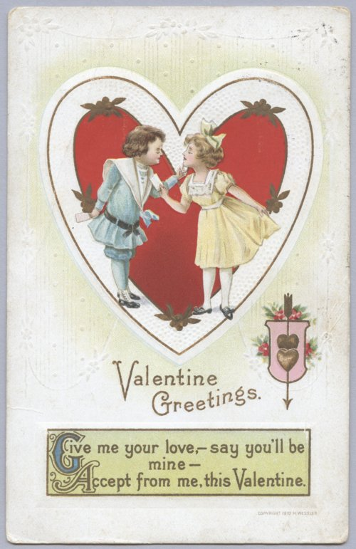 Valentine's Day postcard - Page