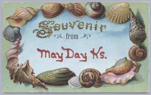 Souvenir postcard - Page