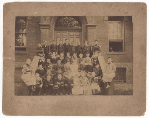 Students at Morris Public School in Leavenworth, Kansas - Page
