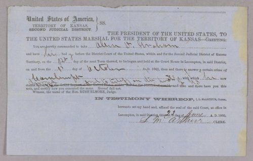 United States versus Allen D. Graham for contempt - Page