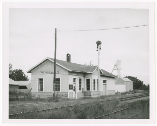St. Louis-San Francisco Railway depot, Mound Valley, Kansas - Page