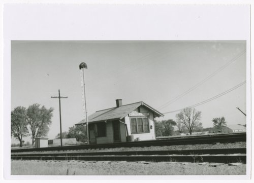 Missouri-Kansas-Texas Railroad depot, Mildred, Kansas - Page