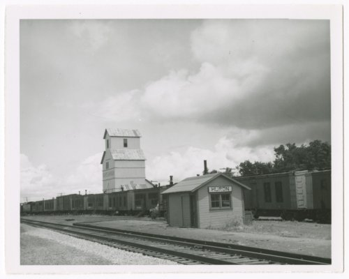 Missouri Pacific Railroad Company's box depot, Huron, Kansas - Page