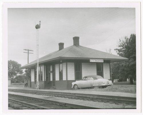 Missouri Pacific Railroad depot, Effingham, Kansas - Page