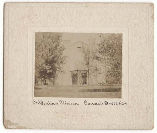 Old Indian (Kaw) Mission, Council Grove, Kansas - Page
