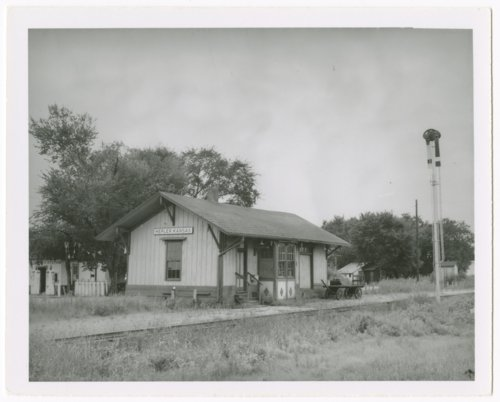 Missouri-Kansas-Texas Railroad depot, Hepler, Kansas - Page