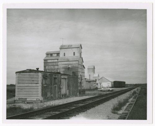 Atchison, Topeka and Santa Fe Railway Company depot, Rock, Kansas - Page