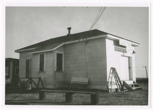 Missouri Pacific Railroad depot, Carlton, Kansas - Page