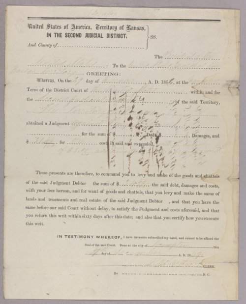 United States versus Henry Kilburn for robbery - Page