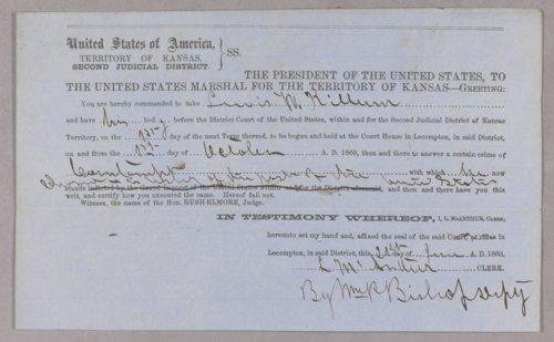 United States versus Lewis U. Killurn for contempt - Page