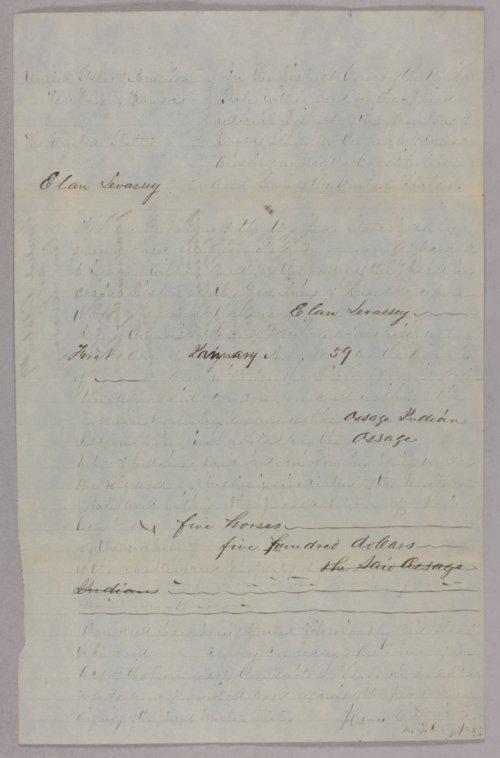 United States versus Elan Levassey for larceny - Page