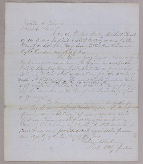 Kansas Territory versus Jesse Mitchner for gambling - Page