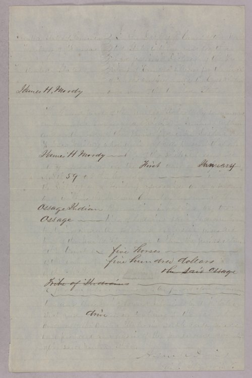 United States versus James H. Moody for stealing Indian property - Page