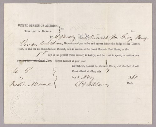 United States versus Richard Moore for larceny of Indian property - Page