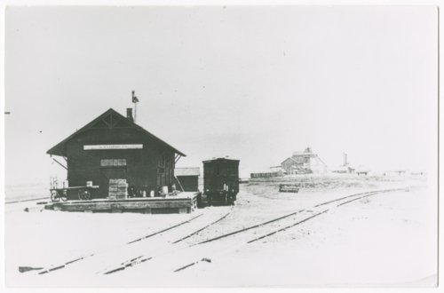 Union Pacific Railroad Company depot, Kanopolis, Kansas - Page