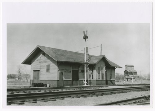 Chicago, Rock Island & Pacific Railroad depot, Maple Hill, Kansas - Page
