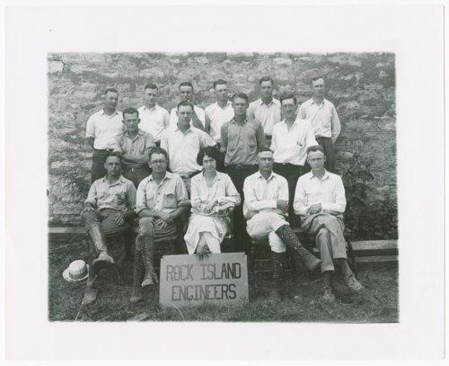 Chicago, Rock Island & Pacific Railroad engineers, Alma, Kansas - Page