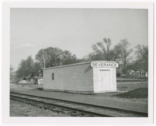 Union Pacific Railroad Company depot, Severance, Kansas - Page