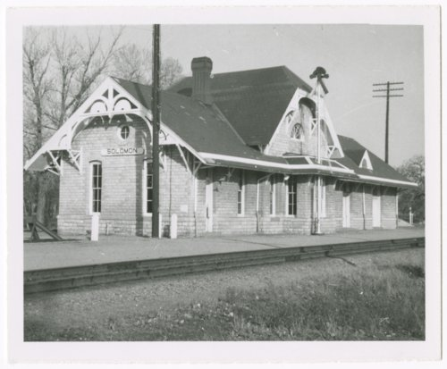 Union Pacific Railroad Company depot, Solomon, Kansas - Page