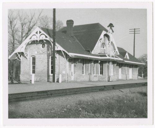 Union Pacific Railroad Company depot, Solomon, Kansas - Page