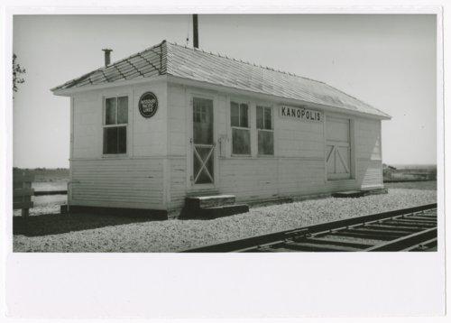Missouri Pacific Railroad depot, Kanopolis, Kansas - Page