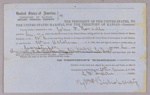 United States versus John D. Norville for contempt - Page