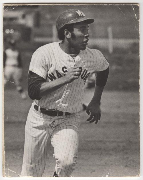 Sherman A. Parks, Jr. in baseball uniform - Page