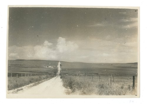 """""""Road to the hills,"""" dirt road in Butler County, Kansas - Page"""