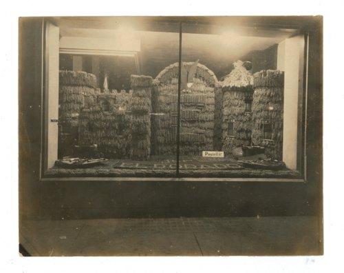 Kaffir Corn Carnival display, Powell's hardware store, El Dorado, Butler County, Kansas - Page