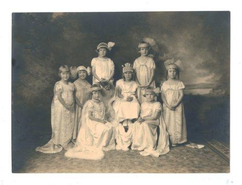 1926 Kaffir Corn Carnival baby court, El Dorado, Butler County, Kansas - Page