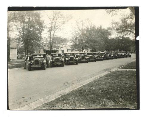 Nash car parade at the Kaffir Corn Carnival, El Dorado, Butler County, Kansas - Page
