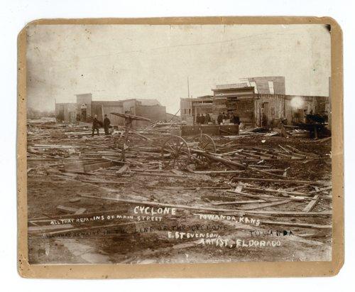 Tornado damage in Towanda, Butler County, Kansas - Page